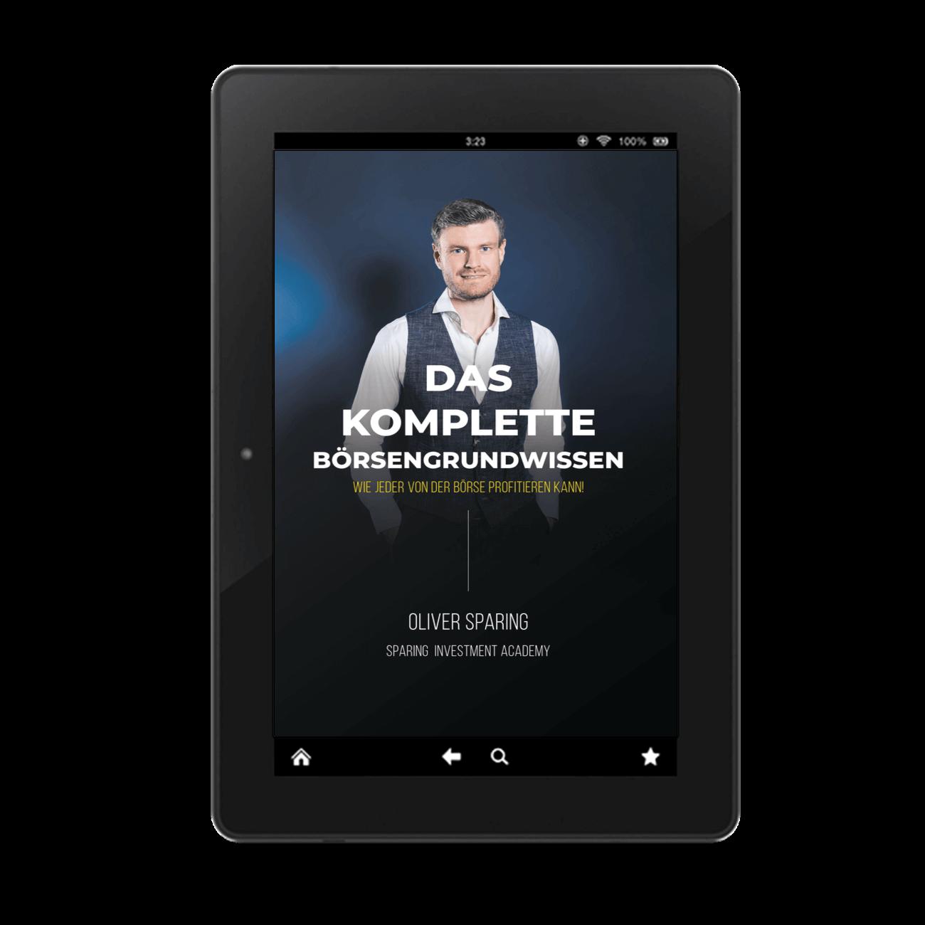 E-Book Cover Das Komplette Börsengrundwissen