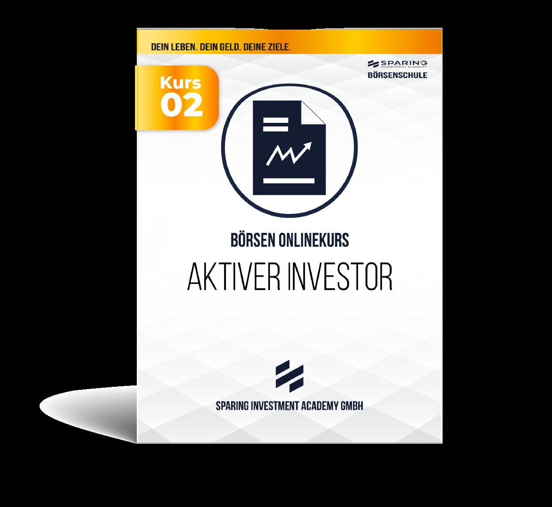 Aktiver Investor - Börsen Onlinekurs - Aktien Investor werden - Kursbox Front
