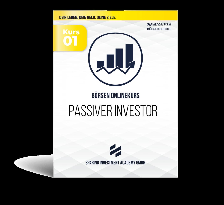 Passiver Investor - Börsen Onlinekurs - Kursbox Front